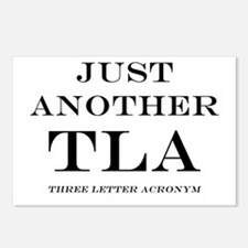 Just Another TLA Postcards (Package of 8)