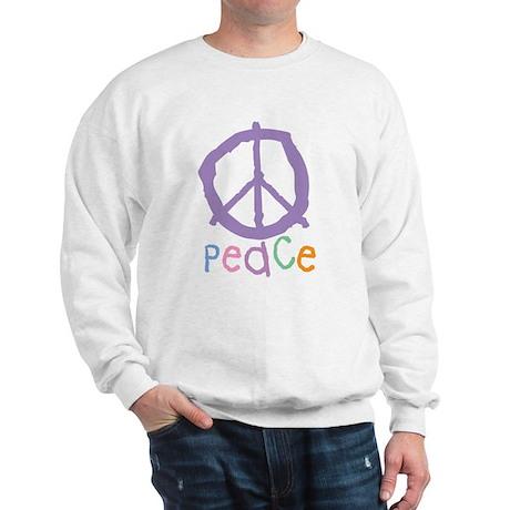 Child's Peace Sign Sweatshirt