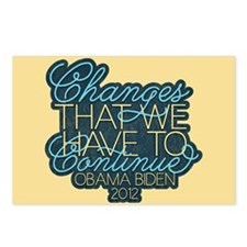 Change Continue Postcards (Package of 8)