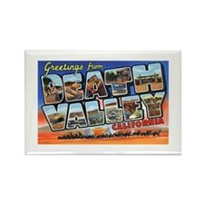 Death Valley Greetings Rectangle Magnet
