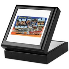 Death Valley Greetings Keepsake Box