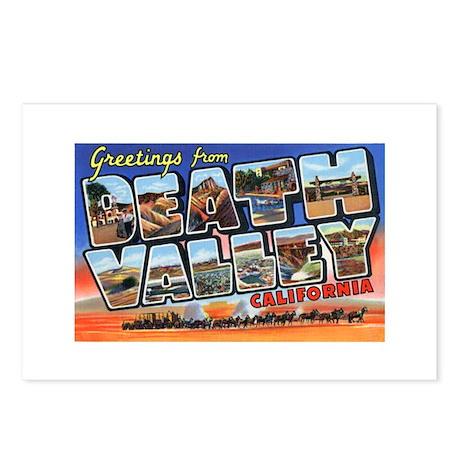 Death Valley Greetings Postcards (Package of 8)
