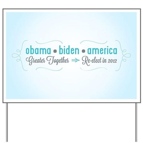 Greater Together Yard Sign