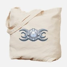 Ornate Wiccan Triple Goddess Tote Bag