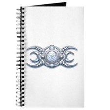 Ornate Wiccan Triple Goddess Journal