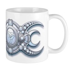Ornate Wiccan Triple Goddess Mug