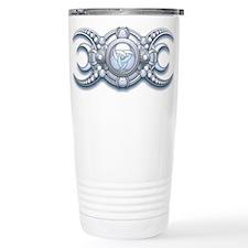 Ornate Wiccan Triple Goddess Travel Mug