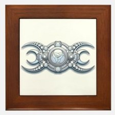 Ornate Wiccan Triple Goddess Framed Tile