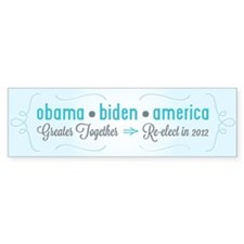 Greater Together Bumper Sticker