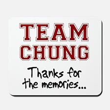 Connie Chung - Sings farewell Mousepad