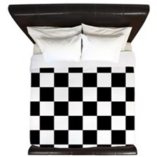 Checkerboard King Duvet