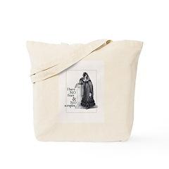 Jane Austen No Fears Tote Bag