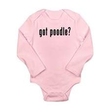 GOT POODLE Long Sleeve Infant Bodysuit