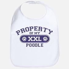 Poodle PROPERTY Bib