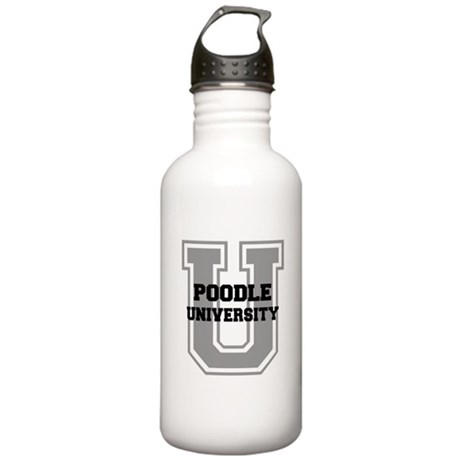 Poodle UNIVERSITY Stainless Water Bottle 1.0L