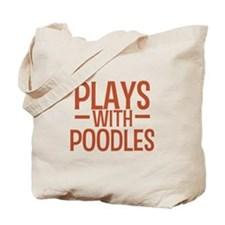 PLAYS Poodles Tote Bag