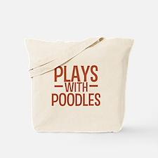 PLAYS Poodles Tote Bag