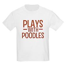 PLAYS Poodles T-Shirt