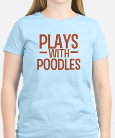 PLAYS Poodles T-Shirt
