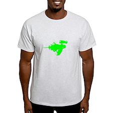 Green Alien Raygun T-Shirt