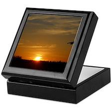 Saturday Sunset Keepsake Box
