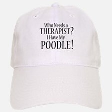 THERAPIST Poodle Baseball Baseball Cap