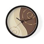 Trendy Abstract Wall Clock