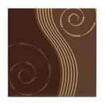 Trendy Abstract Tile Coaster