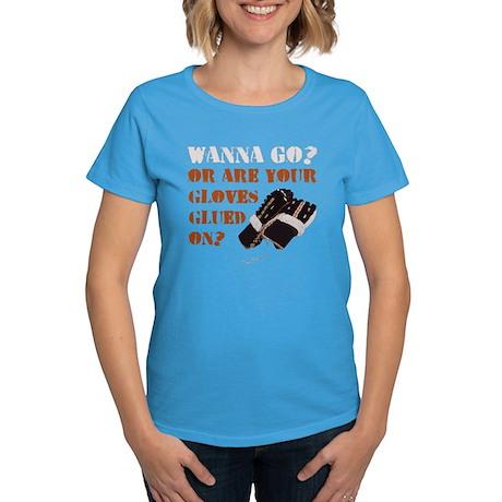 Hockey Enforcer Fighter Women's Dark T-Shirt