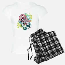 Music Swirl Pajamas