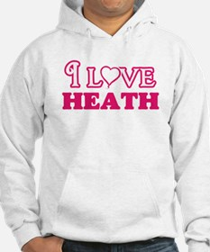 I Love Heath Sweatshirt
