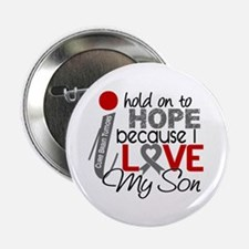 "I Hold On To Hope Brain Tumor 2.25"" Button"