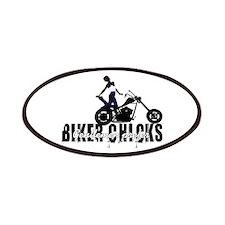 Gentlemen Prefer Biker Chicks Patches