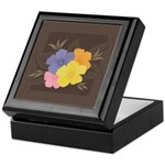 Trendy Abstract Keepsake Box