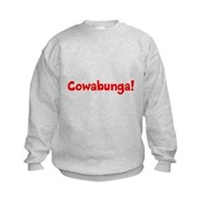 Cowabunga (red) Sweatshirt