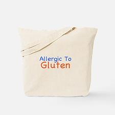 Allergic To Gluten Tote Bag