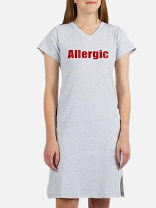 Allergic Women's Nightshirt