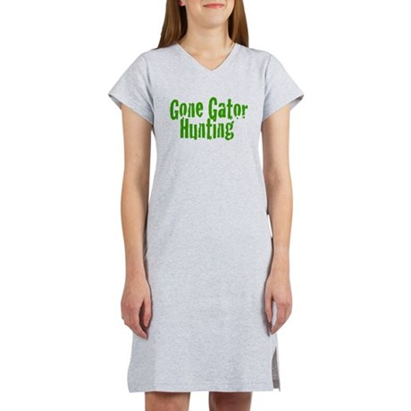 Gone Gator Hunting Women's Nightshirt
