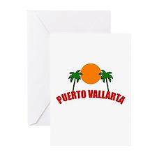 Unique Puerto vallarta Greeting Cards (Pk of 10)