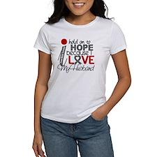 I Hold On To Hope Brain Tumor Tee