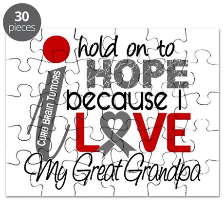 I Hold On To Hope Brain Tumor Puzzle
