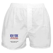 New York The most polite city in the world Boxer S