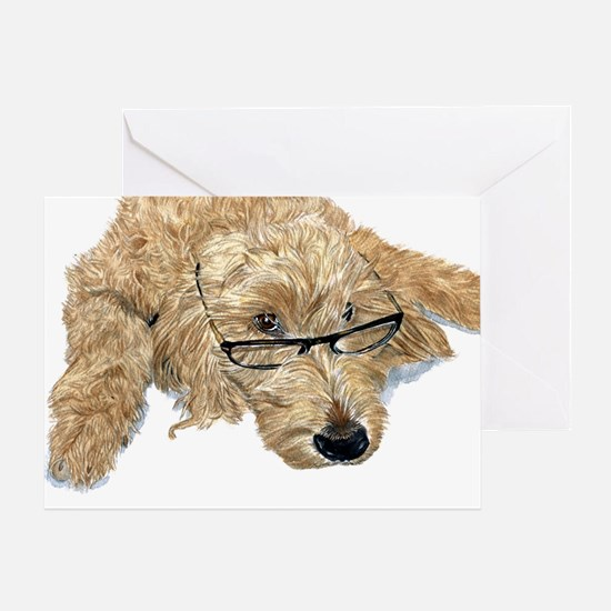 Goldendoodle Stella Greeting Card