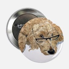 "Goldendoodle Stella 2.25"" Button"