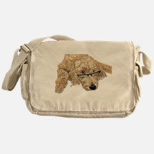 Goldendoodle Stella Messenger Bag