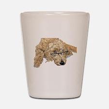 Goldendoodle Stella Shot Glass