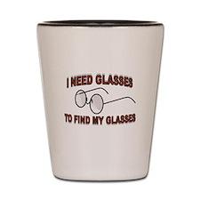 JUST A BLUR Shot Glass