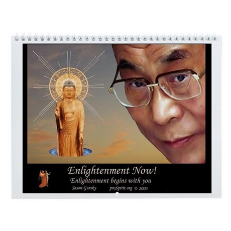 Enlightenment Now! - 12 Month Calendar