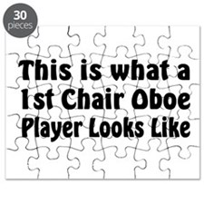 1st Chair Oboe Player Puzzle