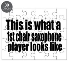 1st Chair Player Puzzle